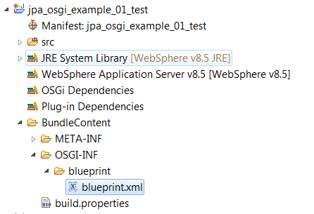 Osgi and jpa websphere rad workbook blueprint ready to be used for connecting into jpa project malvernweather Images